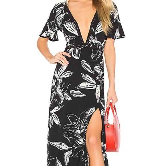 Amuse Society Seaside Floral Dress